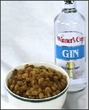 This has been working for my sister for years!!! Gin-soaked golden raisens for arthritis pain   ---Ingredients: golden raisins and gin.    Empty the raisins into a bowl and pour in just enough gin to cover the raisins. Allow the gin to evaporate (about one week) and then place the moist raisins in a jar with a lid.    Eat nine raisins a day. They go well on cereal!
