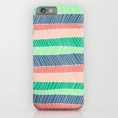 Beach Stripe (Spring) iPhone 6 Slim Case