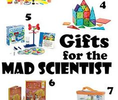 Fun! Gifts for the Budding Scientist -Momo #STEM