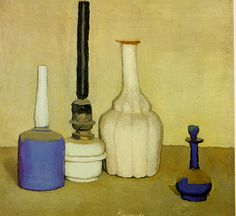 "Giorgio Morandi ""sometimes it's more about the space in between"""