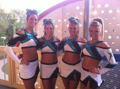 Cheer Extreme uniforms... great style, classy design! We LOVE!  top cheer uniform trends from 2012 on