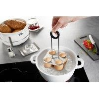 Wire Egg Stand for cooking 4 eggs