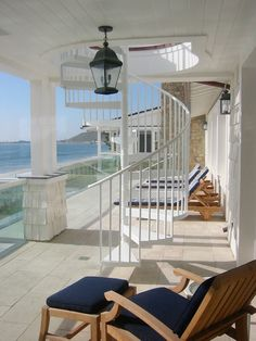 porch.. with the added benefit of the ocean!
