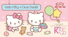 Image result for hello kitty and daniel