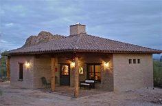 Beginning in 1775 Tucson homes were built of adobe or mud blocks