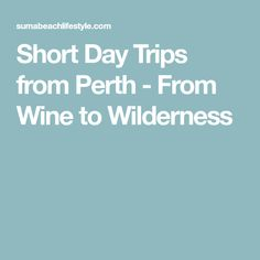 Getaway from the city and try out one of these short day trips from Perth including Rottnest Island, Swan Valley, Busselton and Rockingham. Australia Beach, Western Australia, Cottesloe Beach, Pretty Beach, Seaside Towns, Weekends Away, Concrete Jungle, Just Relax, Whale Watching
