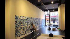 """22-6-7446 - Opbouw """"muurschildering"""" @ Kunstliefde, Utrecht"""