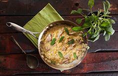 Κριθαράκι με αρνί , φασκόμηλο και κεφαλογραβιέρα Mashed Potatoes, Cooking, Ethnic Recipes, Food, Whipped Potatoes, Kitchen, Smash Potatoes, Kochen, Meals