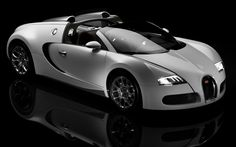 Bugatti Veyron Super Sport Car. Not quite my style. At all. But it can reach 250 mph, believe it or not. Which is...sweet. >.> Das is fast.