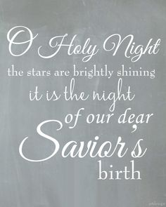 O Holy Night {Free Printable} - JST Design