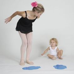 Tips for Teaching Creative Movement and Ballet Dance to Toddlers: Jump in Puddles