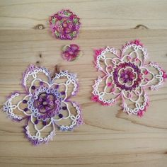Hello SAKURA(c)Herua #tatting #tattinglace #태팅레이스
