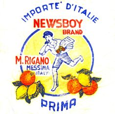 I bambini sugli incarti dei frutti | Italian Ways