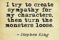 This can work in other genres besides horror.for instance in a murder mystery or social protest novel Writing Memes, Book Writing Tips, Writing Prompts, Writing Ideas, Stephen King Quotes, Stephen King Books, F Scott Fitzgerald, Cs Lewis, Ernest Hemingway