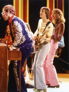 Elton, Dee & Davey: 3/5 of the classic EJ band! :-)
