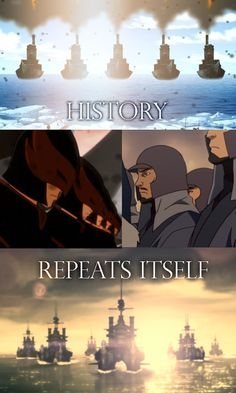 """Comparing the invasion of the Northern Water Tribe in """"Avatar: The Last Airbender"""" to the occupation of the Southern Water Tribe in """"The Legend of Korra. Korra Avatar, Team Avatar, Avatar World, Water Tribe, Avatar Series, Korrasami, Fire Nation, Legend Of Korra, Avatar The Last Airbender"""