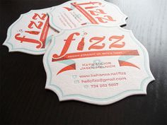 62 Cool Examples of Big Typography in Business Card Design