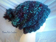 Adult Teens Size Super Slouchy Snow Beanie by MommaRobsCreations, $27.00