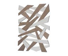 """Lustro ścienne """"Noir Argente"""", 5 x 84 x 60 cm"""