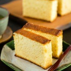 Moist And Sweet Japanese Honey Sponge Cake Made With Egg Bread Flour Honey