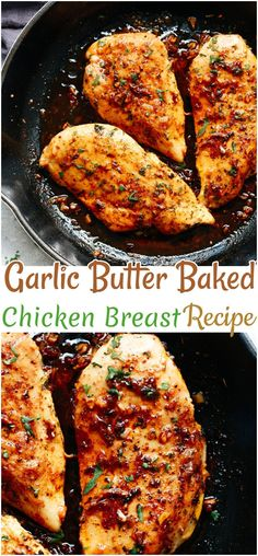 Chicken Recipes – Chicken Breast Recipes - Healty fitness home cleaning Chicken Parmesan Recipes, Easy Chicken Recipes, Roasted Chicken Breast, Fried Chicken, Quick Meals To Make, Instant Pot Dinner Recipes, Breast Recipe, Garlic Butter, Lemon Butter