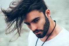 10 Best Hair Products For Men With Long Hair Guide) - HerrenMode Undercut Hairstyles, Cool Hairstyles, Hair Undercut, Hair And Beard Styles, Long Hair Styles, High Top Fade, Famous Men, Haircuts For Men, Look Cool