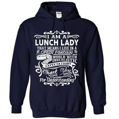 LUNCH LADY  T Shirts, Hoodies, Sweatshirts - #black sweatshirt #men hoodies. PURCHASE NOW => https://www.sunfrog.com/No-Category/LUNCH-LADY-ninja-4713-NavyBlue-Hoodie.html?id=60505