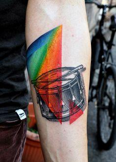Tattoos in Technicolor by Marcin Aleksander Surowiec