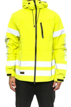 TEN DEEP Squad Seal Seam Jacket Highlighter | Culture Kings Online Store