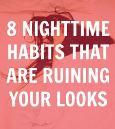How you're sabotaging your beauty sleep