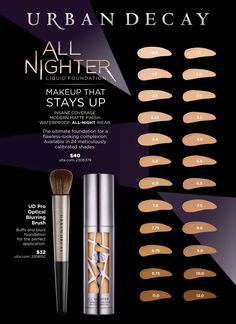 Urban Decay All Nighter Matte Foundation - $40