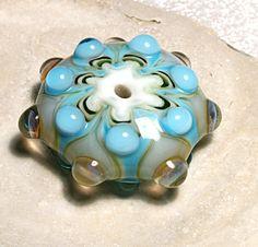 Handmade Lampwork Art Bead Pendant by by JEANNIESBEADS on Etsy, $10.00