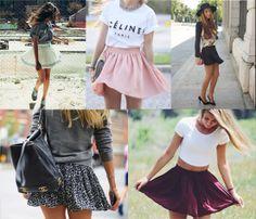 #look #faldas #tendencias #2014 #moda #almeria