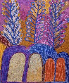 Ruby Tjangawa Williamson Ultukunpa - Honey Grevillea 2013 153 x 122 cm Native Art, Dots Art, Fractal Art, Australian Art, Indigenous Australian Art, Culture Art, Painting, Art, Spirited Art