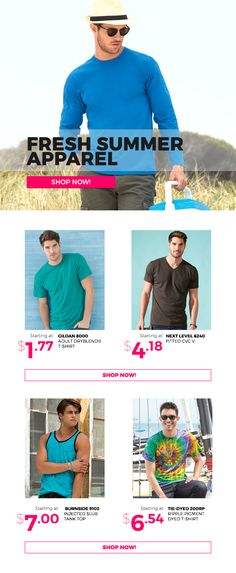 6c57b55b8 Fresh Summer Male Apparel  newsletter  wordans  male  fashion
