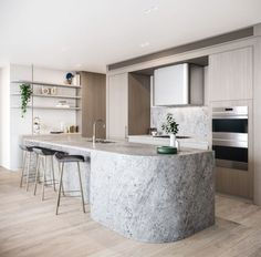Modern Kitchen Interior 10 Design Commandments For Apartment Furniture Design Living Room Kitchen, Home Decor Kitchen, Kitchen Furniture, Furniture Design, Kitchen Ideas, Furniture Stores, Furniture Outlet, Discount Furniture, Outdoor Furniture