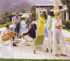 Kaufmann House Pool Party