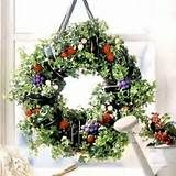 beautiful living wreath flowers - Yahoo Image Search Results