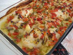 Aprenda a preparar a receita de Filé de peixe assado ------ http://www.tudogostoso.com.br/receita/109052-file-de-peixe-assado.html