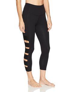 3d50301b1da48 Amazon.com: Beyond Yoga Womens Wide Band Stacked capri Legging: Sports &  Outdoors