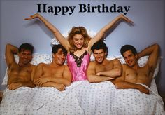 Happy Photograph - Woman With 4 Men by Stan Fellerman Happy Birthday Pictures, Happy Birthday Quotes, Happy Birthday Greetings, Hey Girl Happy Birthday, Birthday Msg, Birthday Messages, Happy Aniversary, Funny Retirement Gifts, Happy Birthday Wallpaper