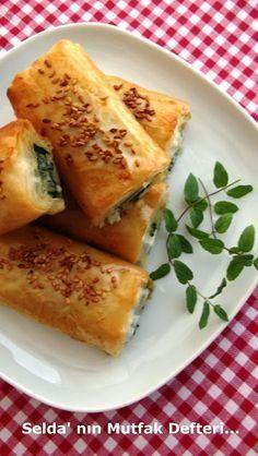 Selda' nın Mutfak Defteri...: Baklava Yufkasından Pazılı Börek