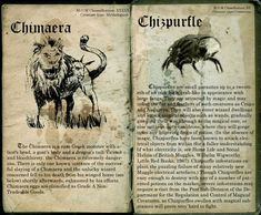 chimaera and chipurfle