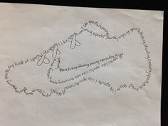 shape poems with students-- step by step directions