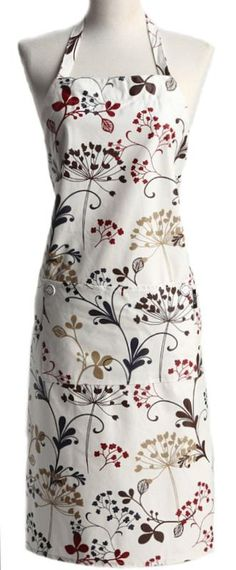 Classic Floral Chef ~ NEW! 10 Modern Vintage Aprons for Spring ... #wedding wishlist #bridal shower gift