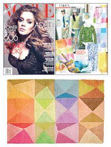 Doug & Gene Meyer rug in Vogue