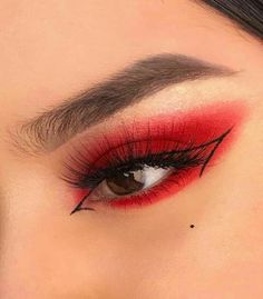 Edgy Makeup, Makeup Eye Looks, Eye Makeup Art, Crazy Makeup, Cute Makeup, Pretty Makeup, Skin Makeup, Beauty Makeup, Makeup Meme
