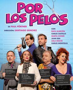 "(Bizkaia) Teatro Campos Elíseos Antzokia. ""POR LOS PELOS"". De Paul Pörtner. Olympia, Movies, Movie Posters, Theatre Posters, Fields, Female Assassin, Entertainment, Santiago, Hair"