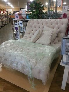 bedroom 4/library for now can be used in another room later....Need this oversized Double Chaise Lounge #homegoods