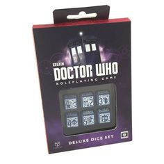 Doctor Who: Adventures in Space & Time RPG: Deluxe Dice Set